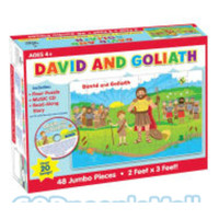 David and Goliath Floor Puzzle and CD (Im Learning the Bible Floor Puzzle)
