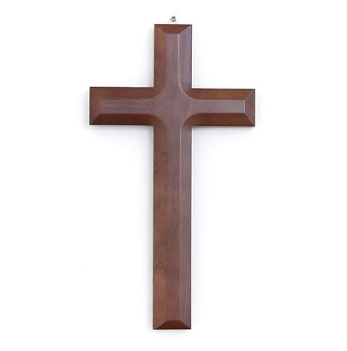 고급 원목 십자가 - 표준 (대) / K-0085