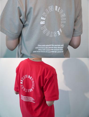 RE:stoRE circle box T-shirts
