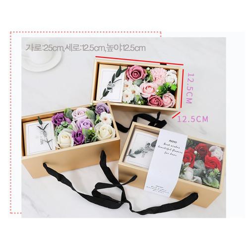 [위드엘]비누꽃상자/기념일선물박스