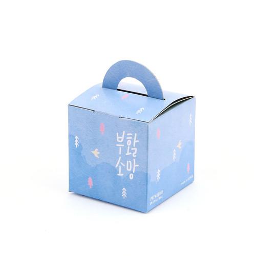 부활절 1구 손잡이박스(10매)_자연614