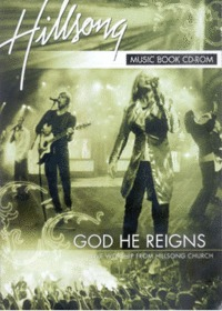 Hillsong Live Worship - God He Reigns Song Book (CD-Rom)
