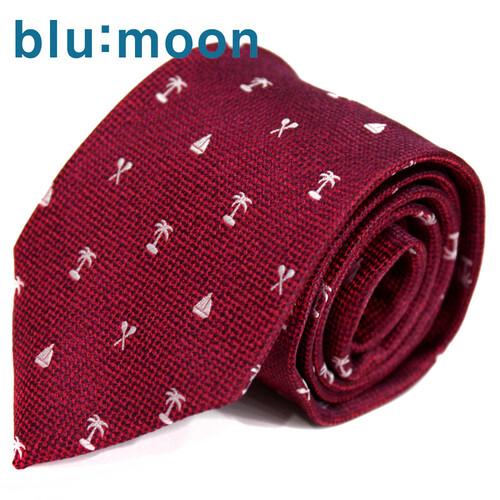 [blu:moon] 블루문넥타이 - 세인트 레드 7.5cm