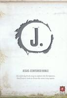 NLT: Jesus-Centered Bible (Charcoal, Imitation Leather)