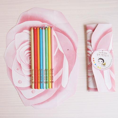 장미 색연필