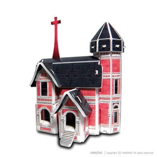 교회마을-사랑교회(입체퍼즐)