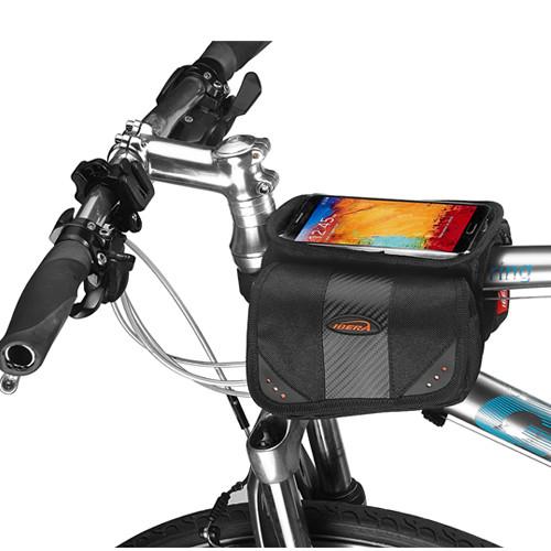 이베라 IB-TB7 자전거 탑튜브가방 - 스마트폰 파우치 포함(5.5인치 이하)