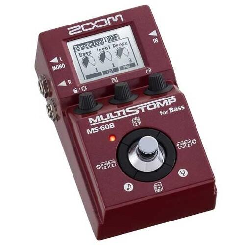 ZOOM MS-60B MultiStomp 베이스 멀티 이펙터