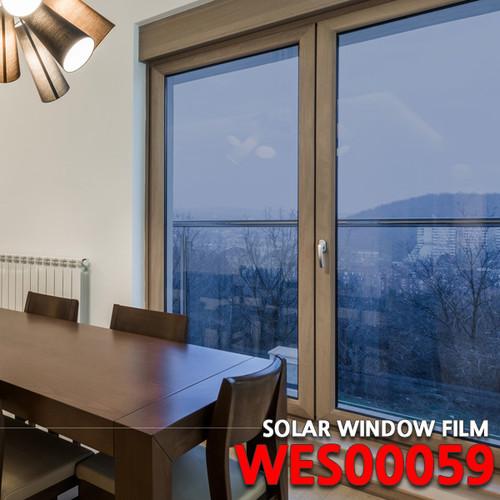 [현대시트] 솔라 썬팅필름 WES00059/블루/창문용시트지/자외선차단 비산방지/사생활보호