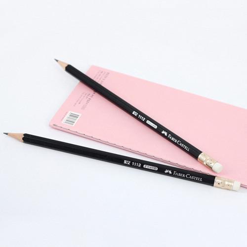 단체인쇄용 - 블랙파버지우개연필 (파버카스텔 연필)