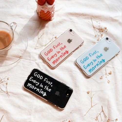[MADE Jelly] God first , Jelly case 말씀 스마트폰 젤리케이스