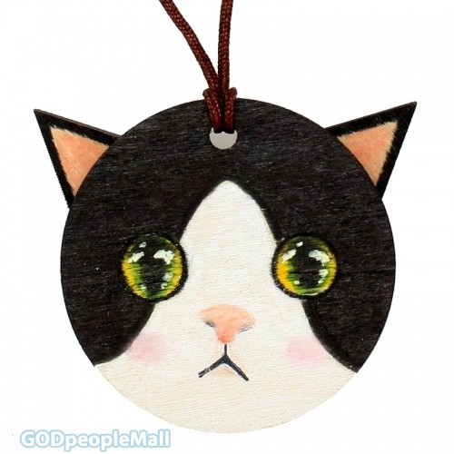 new나무목걸이만들기-고양이
