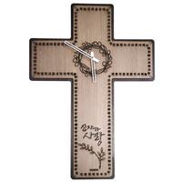 [십자가주기도문시계] 디자인시계(JKE15L)-하기오스