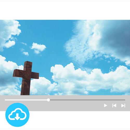 십자가 배경영상 6 by 굿픽 / 이메일발송(파일)