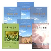 크리스챤 출판사 성경 신학 시리즈 세트(전6권)