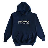 갓피플 후드 티셔츠 - HEAVEN_GOLD (성인용)