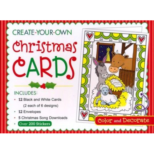 Create Your Own Christmas Cards Activity Box (카드)