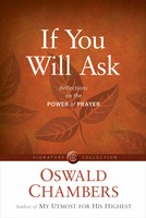 If You Will Ask: Reflections on the Power of Prayer (소프트커버)