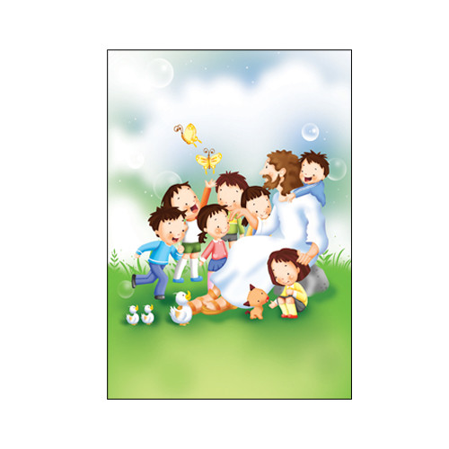 경지사 어린이주보 4면 - 6003 (1속 100매)