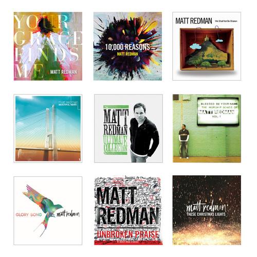 Matt Redman 찬양 음반 세트 (9CD)