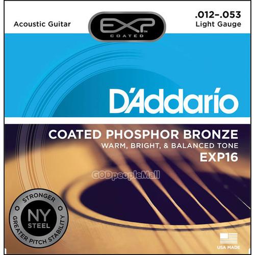 다다리오 어쿠스틱 기타줄 NY EXP16 -  Phosphor Bronze