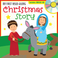 My First Read-Along Christmas Story include Music CD (Board Book) ( Lets Share a Story )