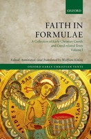 Faith in Formulae: A Collection of Early Christian Creeds and Creed-related Texts 4 Vols Set (HB) 4권 세트