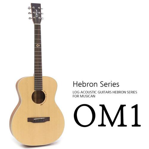 로그 Hebron OM1 어쿠스틱 기타