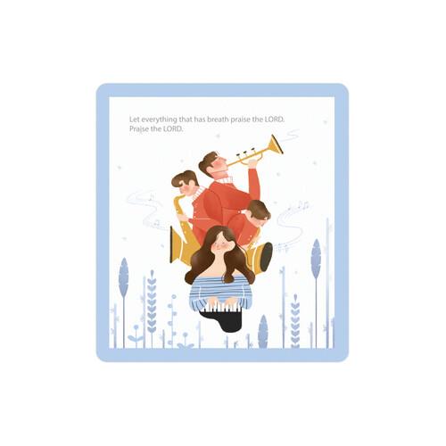 미니카드(EL-0958) 100장(고급지)/500장(일반지)