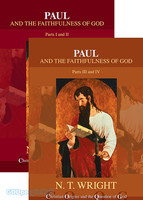 Paul and the Faithfulness of God, 2 Vols.: Part 1, 2 and 3, 4 (Series: Christian Origins and the Question of God, Vol. 4)