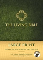 Living Bible, Large Print Ed. (Hardcover, Green Padded Indexed)