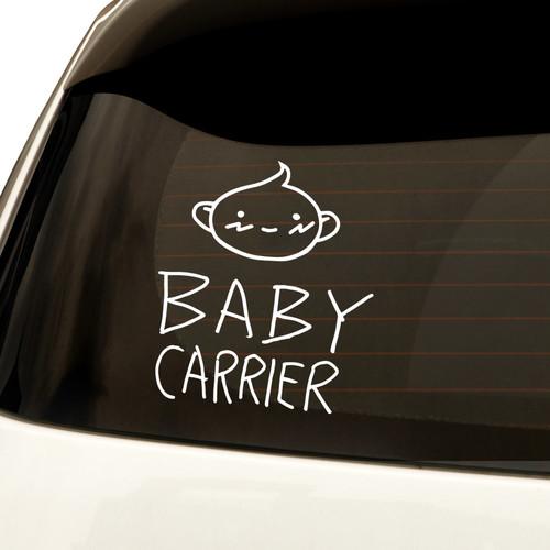 자동차스티커 심플 Baby carrier 아이