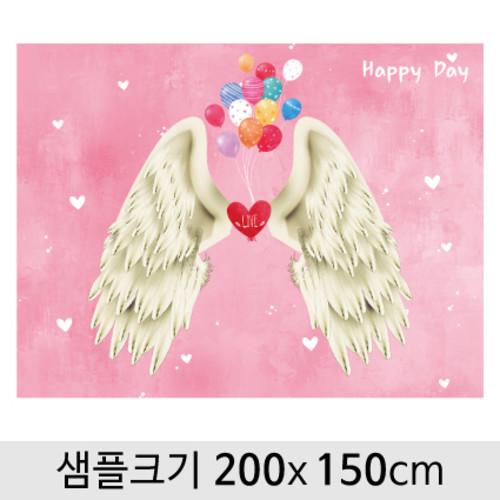 천사날개포토존현수막-035 ( 200 x 150 )