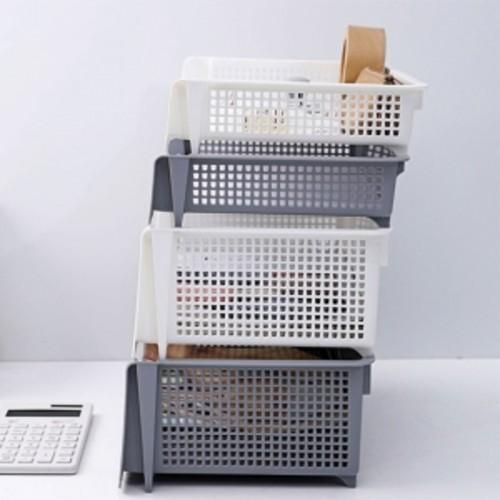 DIY 조립식 A4 사이즈 층층 다용도 파일박스 서류 정리 수납 트레이