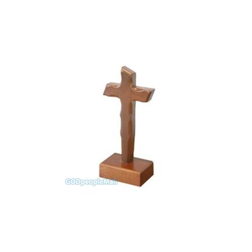 원목 탁상 십자가 - 면류관