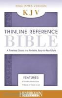 KJV: Thinline Reference Bible (Lilac, Imitation Leather)