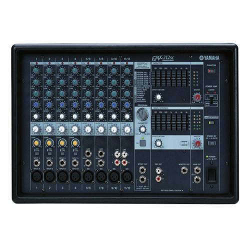 야마하 파워드 믹서 EMX 312SC