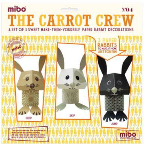 [미보 종이접기]The Carrot Crew-04