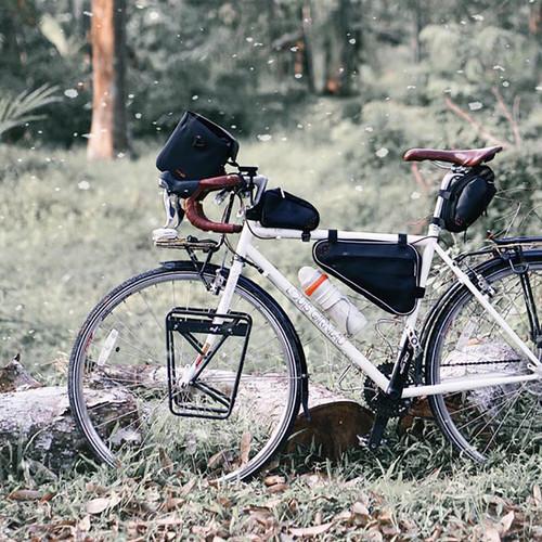 원터치 탈부착 자전거 방수 핸들바 가방 대만산