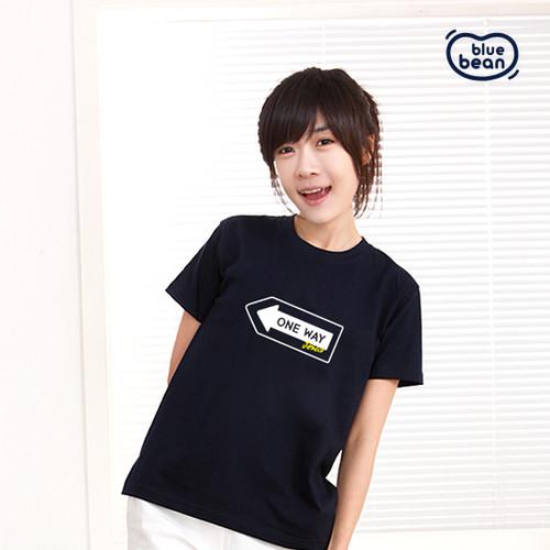 블루빈 성인 티셔츠-원웨이(네이비)