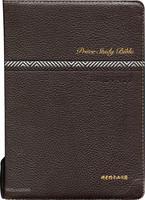 [교회단체명 인쇄] 뉴프라임주석성경 대 합본(색인/지퍼/천연가죽/다크브라운)