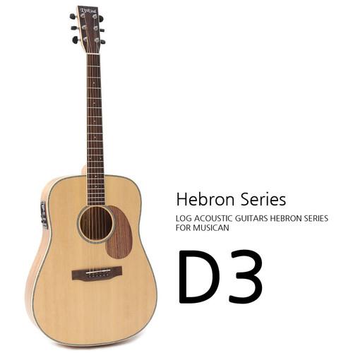 로그 2020 Hebron D3 어쿠스틱 기타
