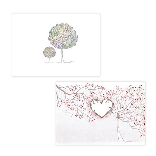 꿈꾸는나무 연필그림 엽서 7종