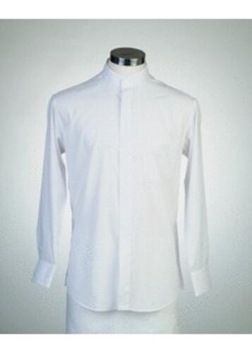 목회자셔츠-차이나카라셔츠 흰색