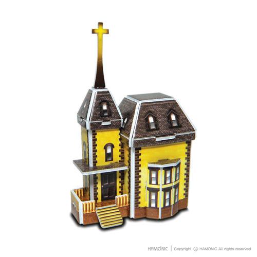 교회마을-소망교회(입체퍼즐)