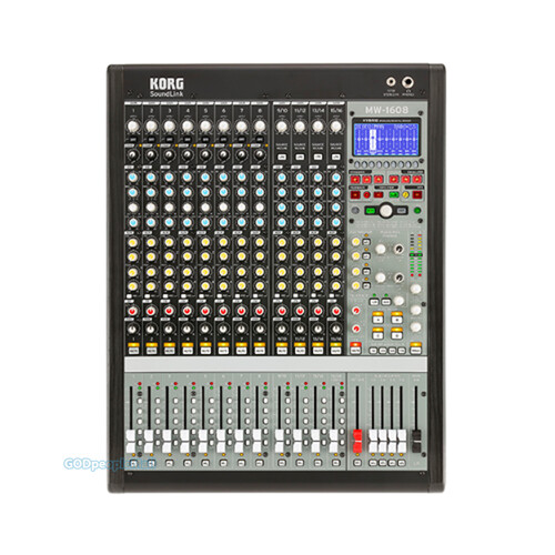 KORG MW-1608 하이브리드 아날로그 디지털 믹서