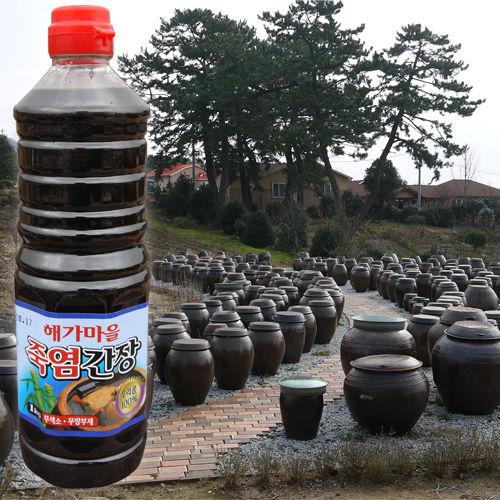 남전교회 해가마을 2년 숙성 죽염간장(900ml)