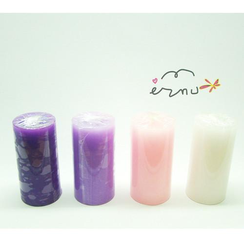 촛불 예배용 양초 (중) - 높이14.5*지름7.5cm (절기 6색상)