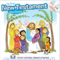 My First New Testament with Audio CD (Padded HB)