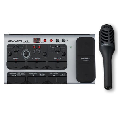 ZOOM V6 보컬 이펙트 프로세서